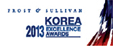 Frost & Sullivan Excellence Awards 로고